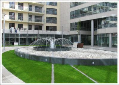 BEMA PLAZA – hard landscaping – 2007